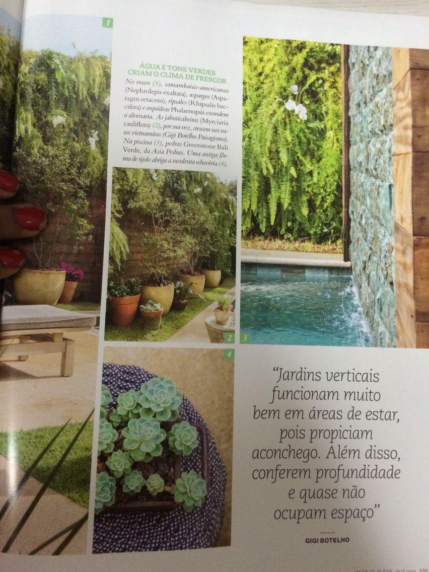 Jardim/ revista