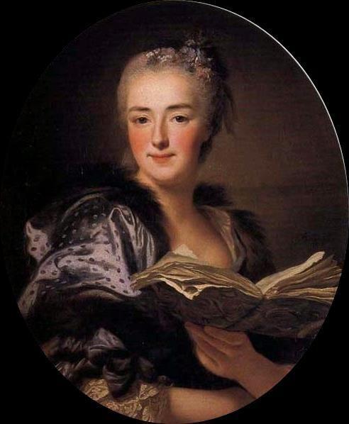 Retrato de Marie-Jeanne Buzeau, 1761 (esposa do pintor François Boucher) Alexander Roslin (França, 1718-1793) Óleo sobre tela, 63 x 51 cm Palácio Nymphenburg, Munique