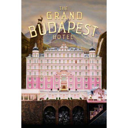 Grand Budapest Hotel Movie Poster 11inx17in Mini Poster 11x17 poster - Walmart.com