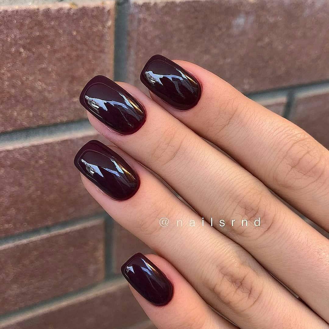 Beautiful autumn nail art design to try this autumn - dark red long coffin nails , autumn nails ,teal nail colors, fall nails , nail polis,acrylic nail art