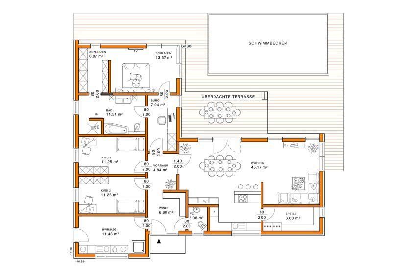 Grundriss EG Haus grundriss, Haus pläne und Bungalow