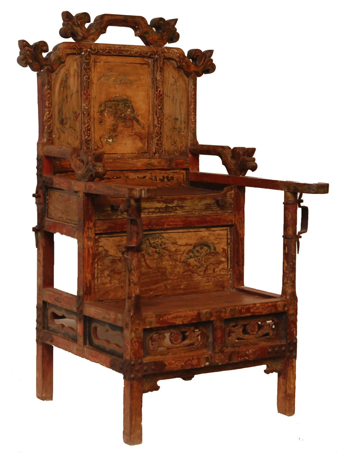 Antique furniture chair - Chinese Antique Wooden Emperor S Chair