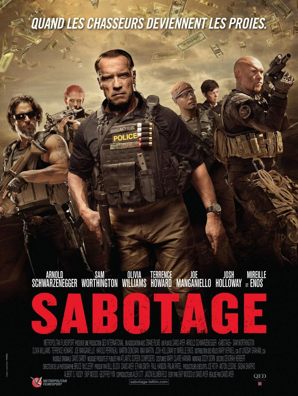 SABOTAGE (2014) aka Ten SCHWARZENEGGER movie - FIRST LOOK v3 (NEW ...