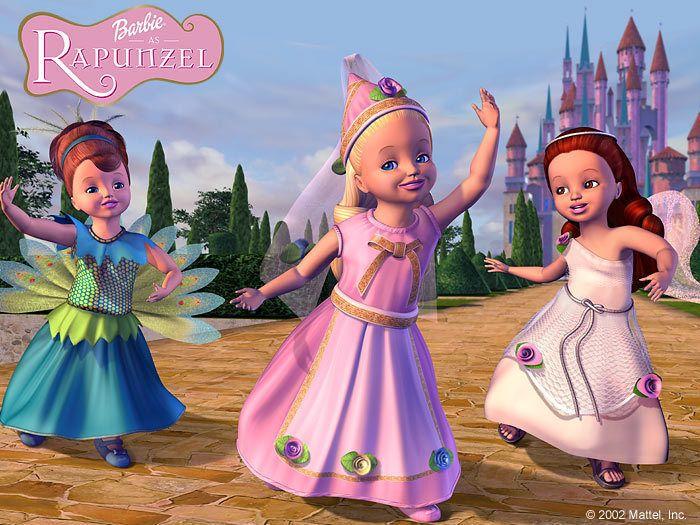 Barbie as Rapunzel Photo: Barbie as Rapunzel Poster