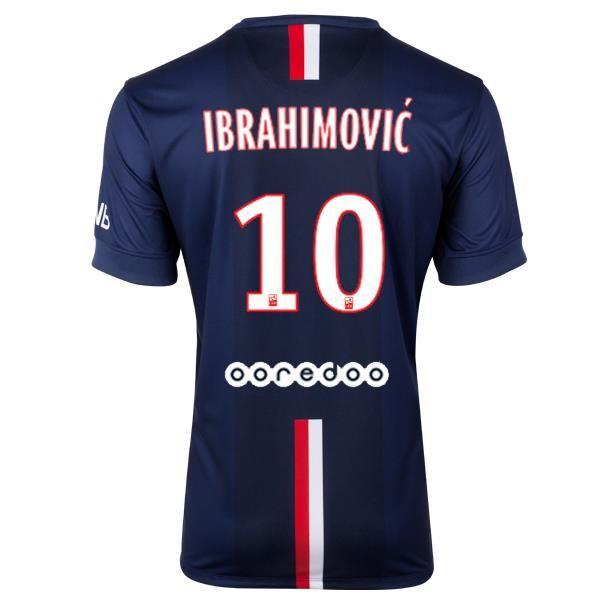 Souvent Youth 2014/15 PSG Zlatan Ibrahimović 10 Soccer Jersey | Soccer  HS68