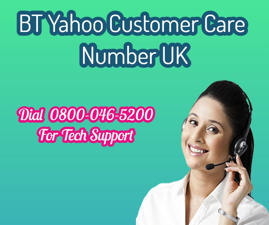 Contact Toll free BT Yahoo Customer Care Service UK 0800