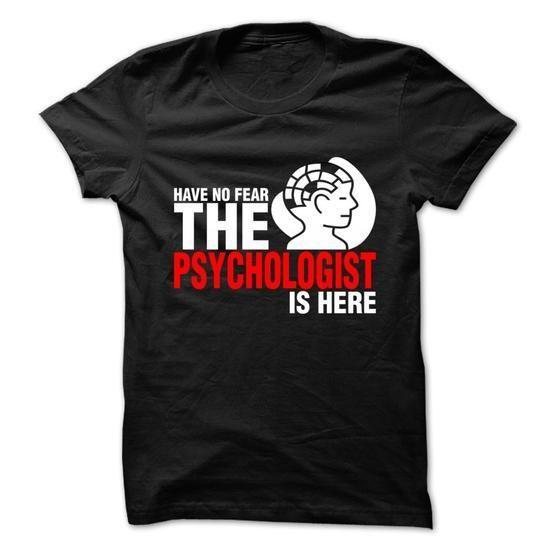 Psychologist T Shirts, Hoodies Sweatshirts. Check price ==► http://store.customtshirts.xyz/go.php?u=https://www.sunfrog.com/Jobs/Psychologist-69679340-Guys.html?41382