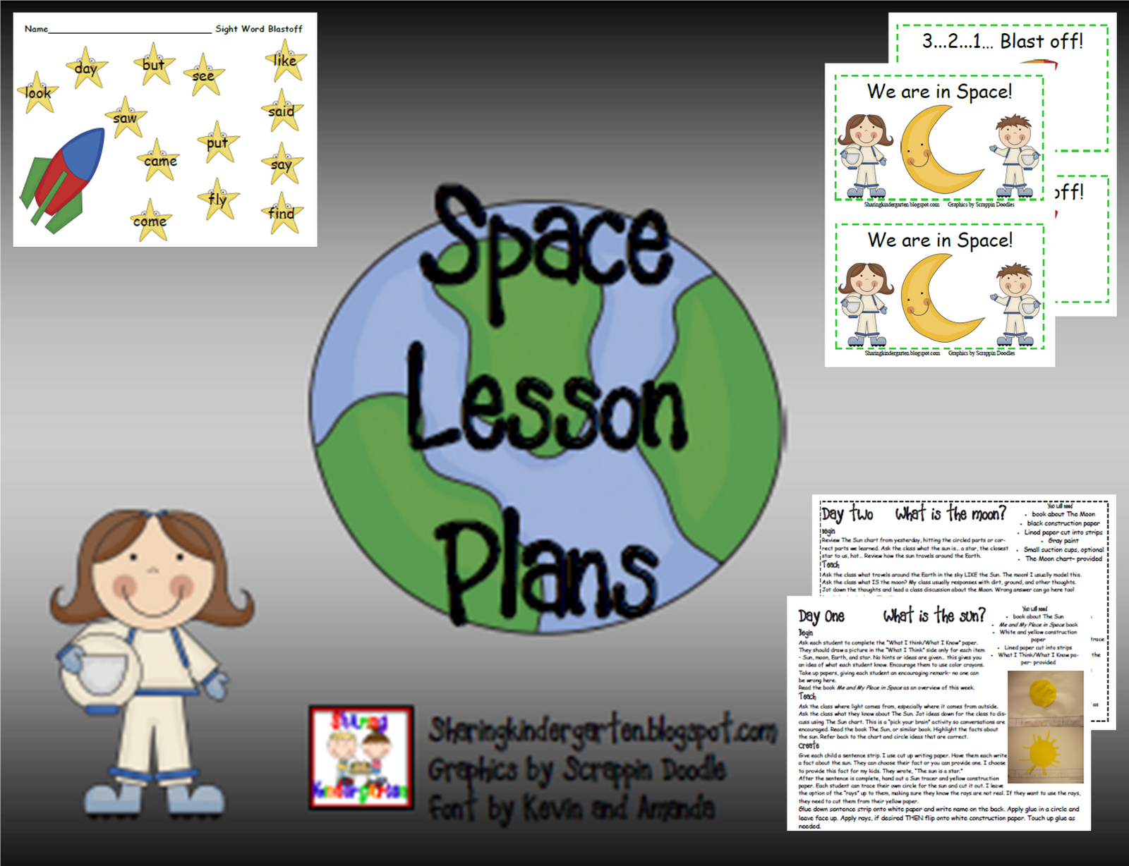 Sharing Kindergarten Space Unit