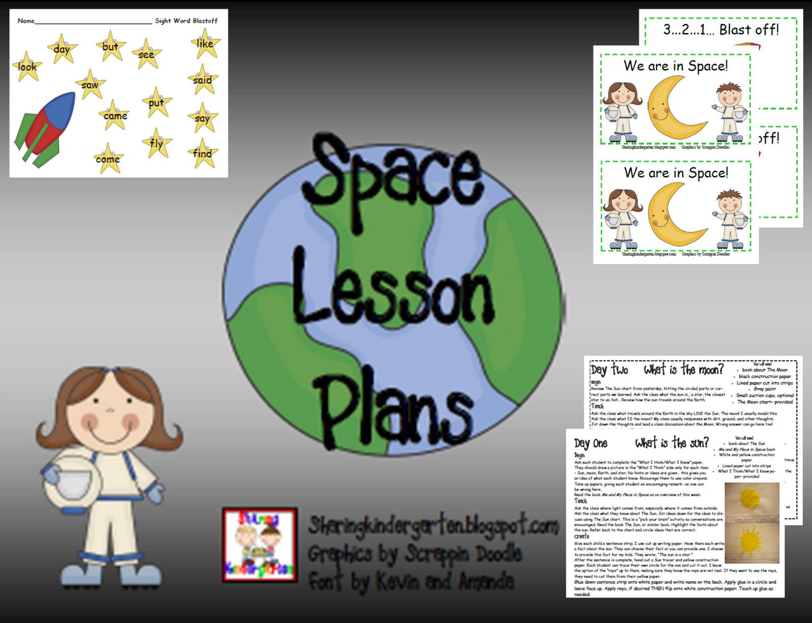Sharing Kindergarten Space Unit