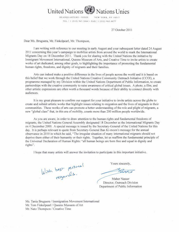 Immigration Letter for A Friend Sample Best Of Sample