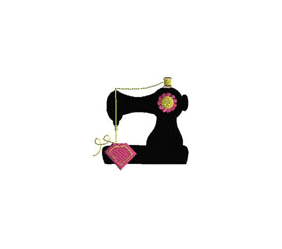 4 Mini Sewing Set Machine Embroidery Designs-INSTANT by SewChaCha