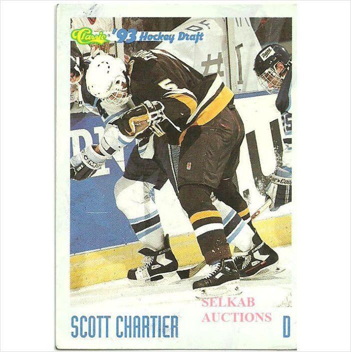 Classic 1993 Ccha Hockey Trading Card 61 Scott Chartier 5 W Michigan Hounds On Ebid Canada 127743676 Trading Cards Hockey Hockey Cards