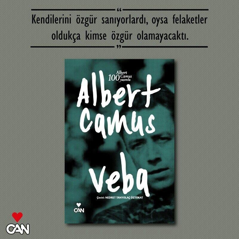 Albert Camus / VEBA  #CanYayinlari #edebiyat #book #kitap #AlbertCamus