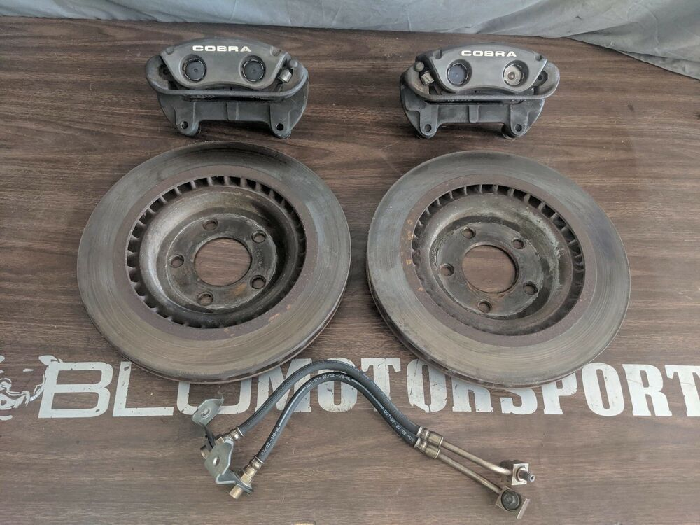 2003 2004 for Ford Mustang Front /& Rear Brake Rotors and Pads SVT Cobra