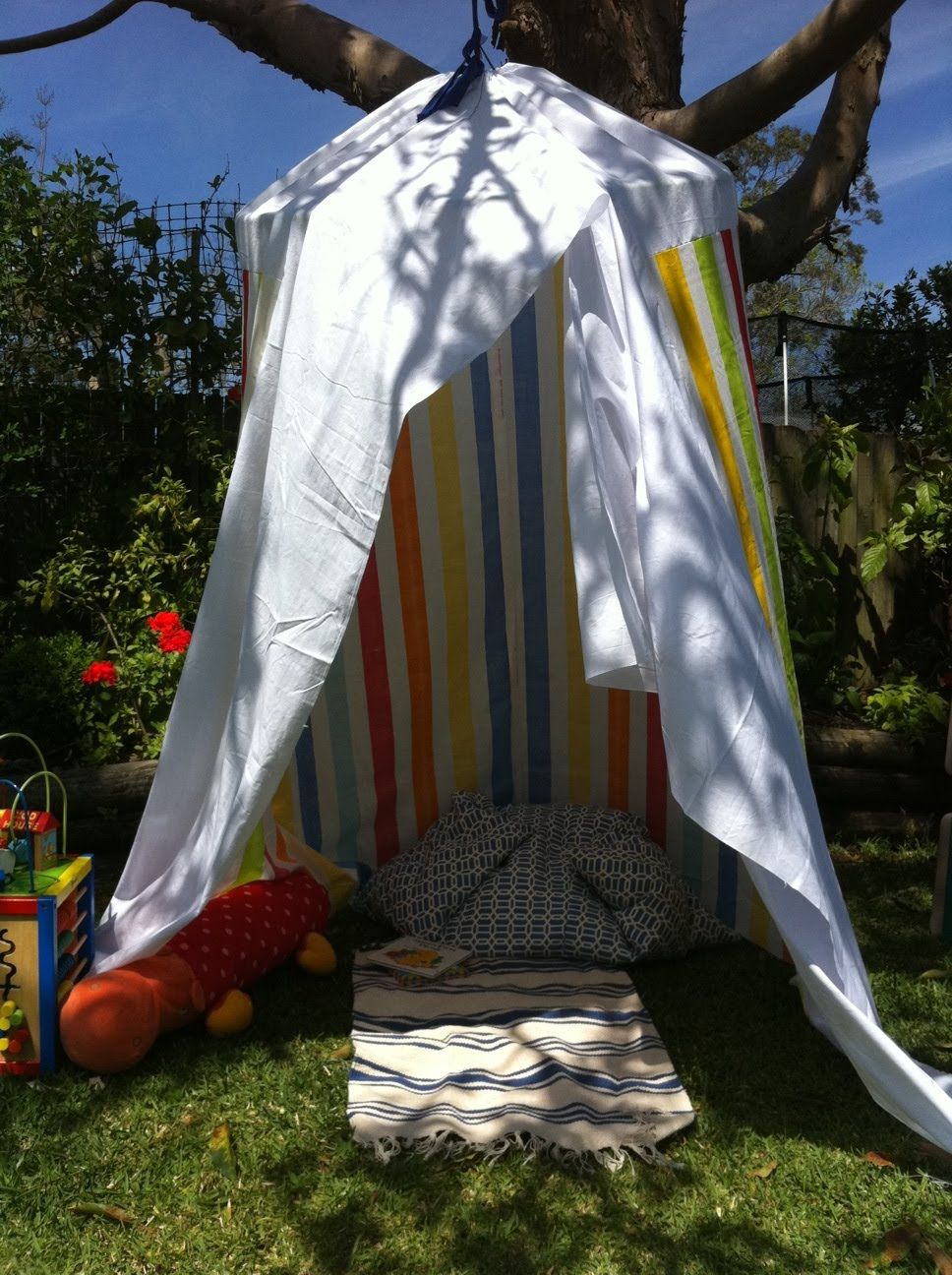 DIY circus tent- fortune teller booth? | Tent, Backyard canopy ...