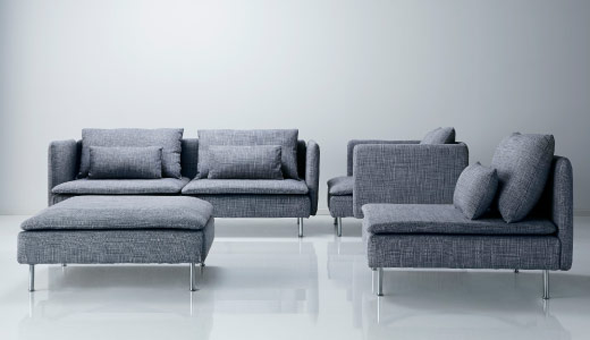 Flexibel zitten met een modulaire bank interieur design by nicole fleur thuis pinterest - Sofa stijl jaar ...