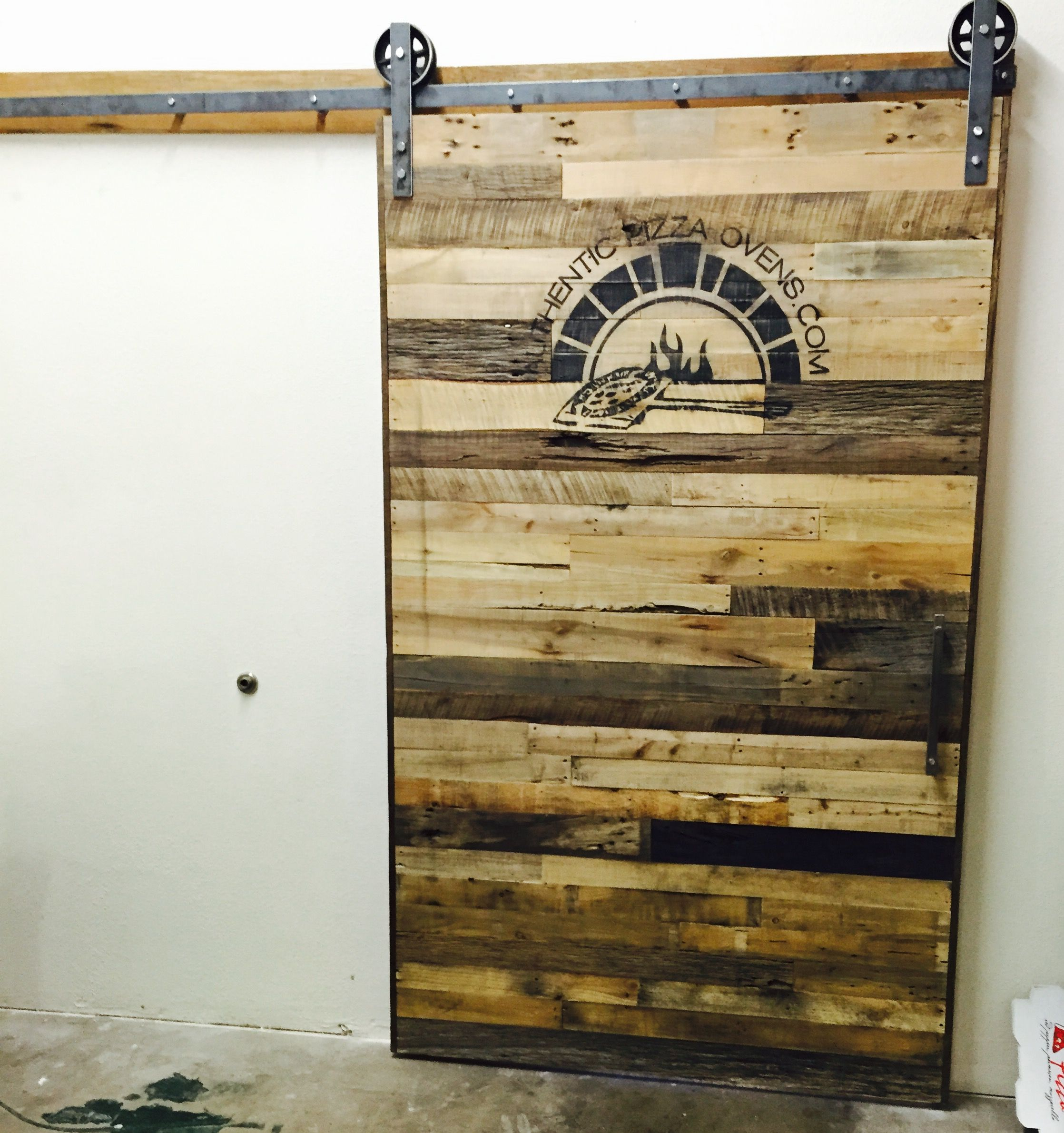 Barn Doors | Custom Interior Barn Doors | Sliding Barn Doors & Our neighbors over at Authentic Pizza Ovens got in touch with the ...