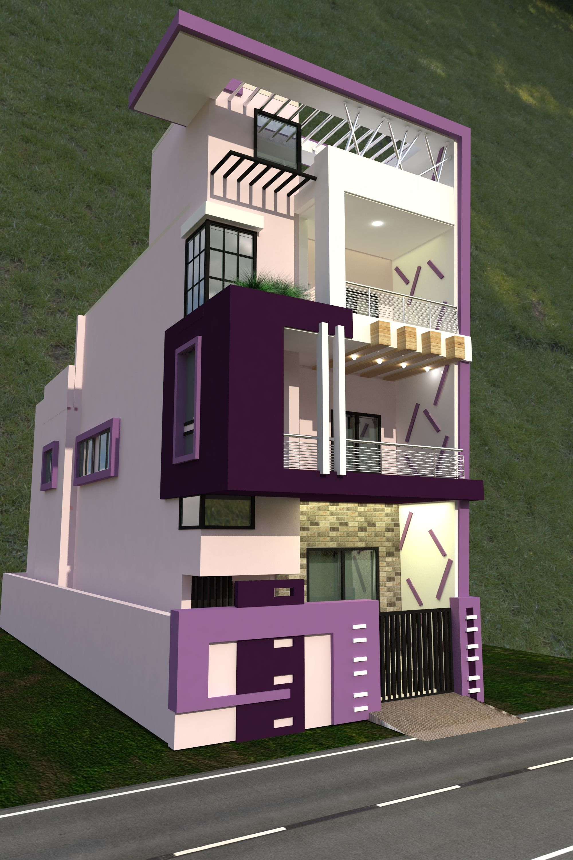 Pin by lokesh sharma on duplex house design pinterest house