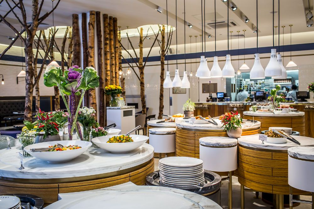 Ethos Deliciously Different Vegetarian restaurant