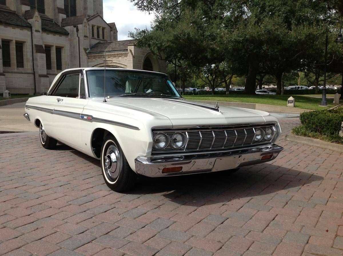 Awesome 1964 Plymouth Sport Fury 2 Door Hardtop