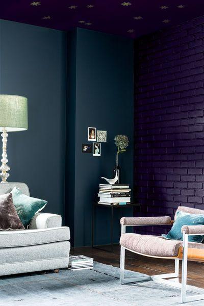 Dunkle Farben Fr Das Wohnzimmer Dulux Farbtrends CF16