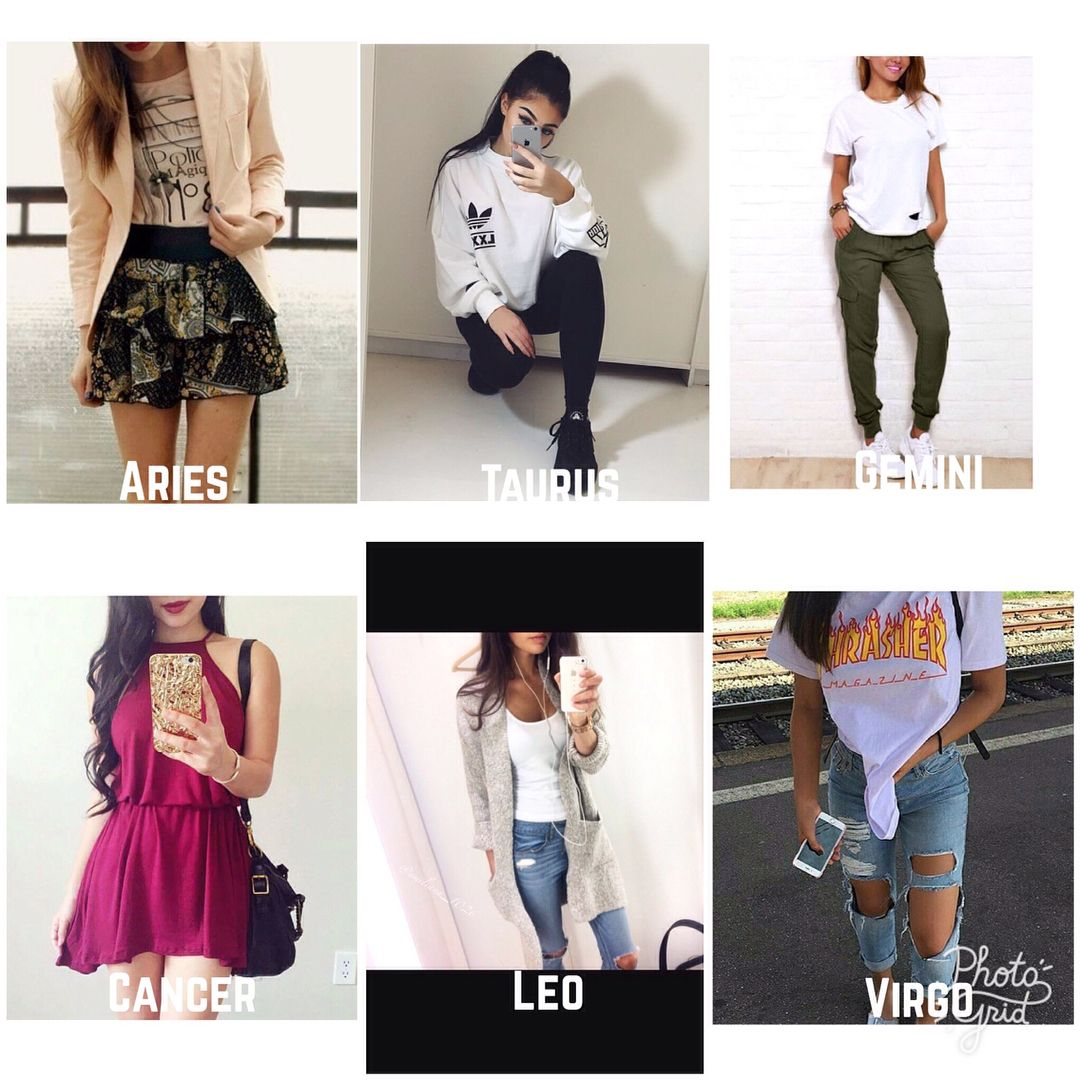 fancy zodiac sign outfits instagram age