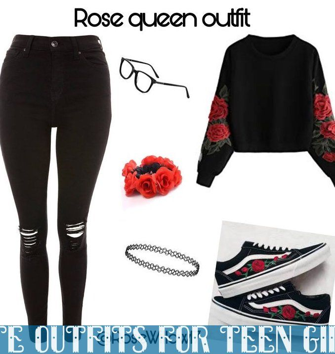 Rose Queen Outfit For Teens Middle Schoolers Back To School