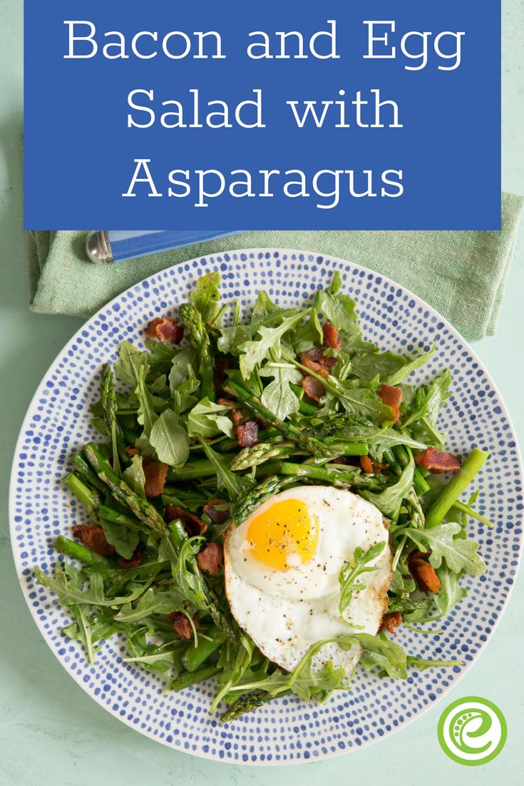 Bacon and Egg Salad with Asparagus | Recipe | Asparagus ...