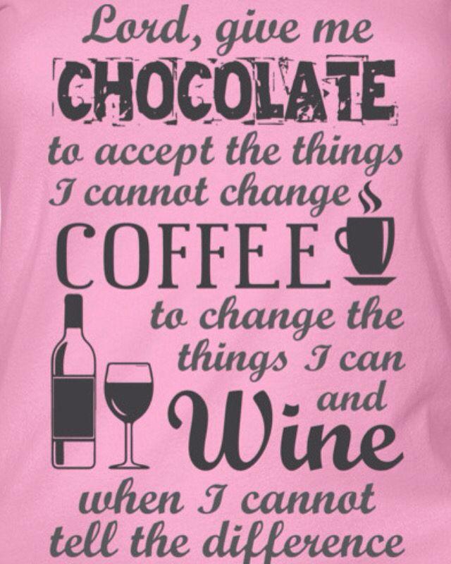 Chocolate, coffee & God