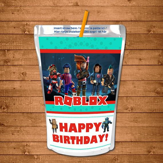 54 Best Roblox Images In 2018 Birthday Party 10th Birthday Roblox Capri Sun Labels Roblox Drink Label Roblox Birthday Etsy In 2020 Birthday Party Printables Lego Birthday Party Party Printables