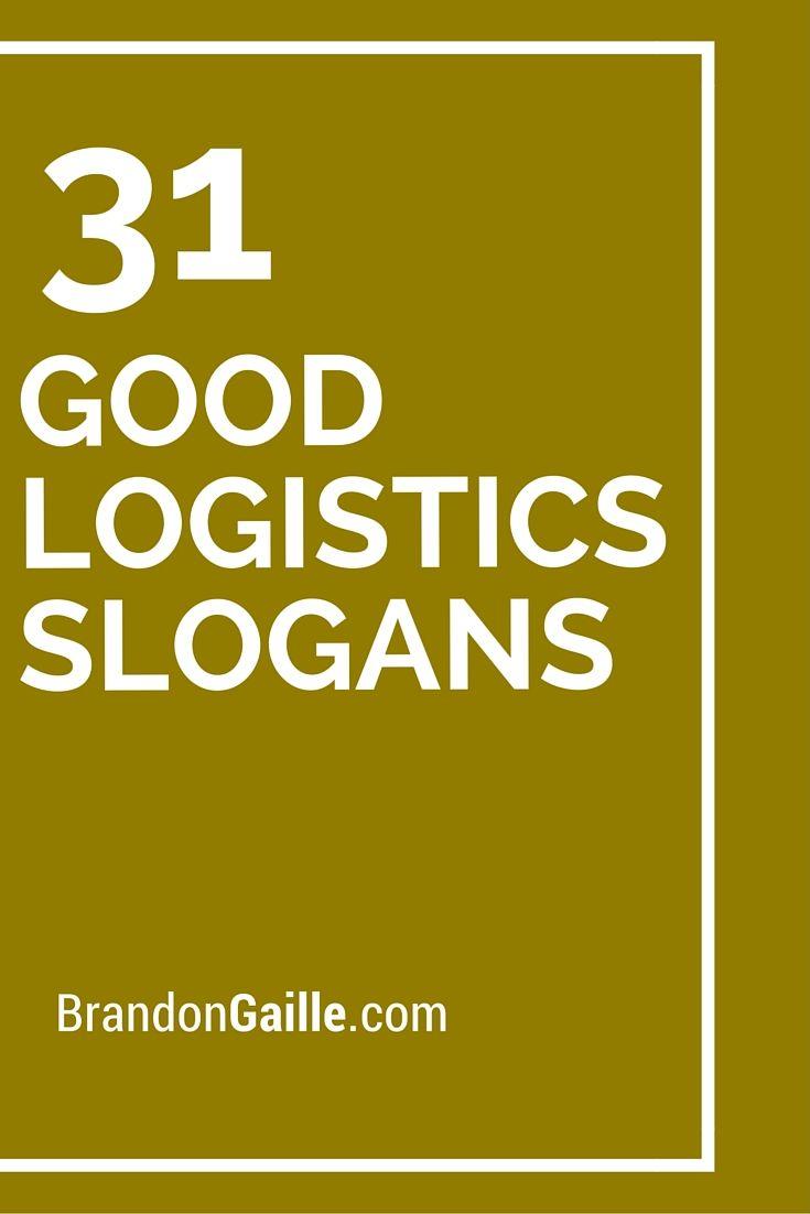 33 good logistics slogans and taglines slogan 31 good logistics slogans magicingreecefo Images
