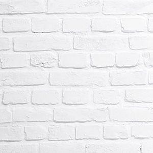 Imitation brick decorative wall panel WHITE ROUGH MSD Panels ...