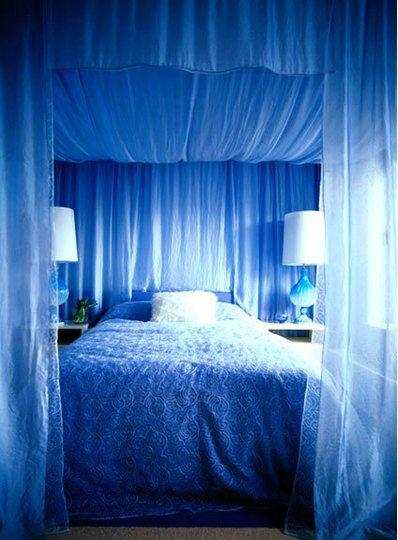 Pin de Gеnеvievе Таshia en Luxery Pinterest Colchones, Camas y - cortinas azules