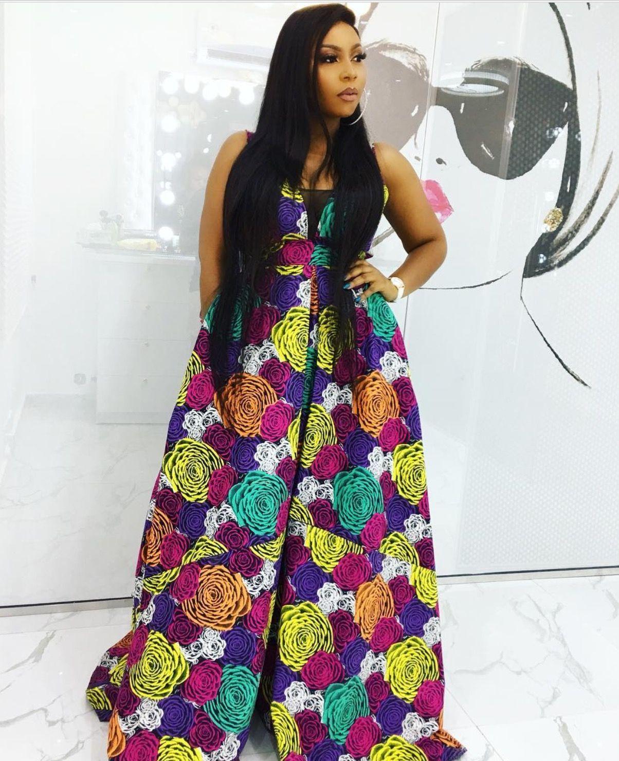 Ankara maxi dress african designs in pinterest ankara