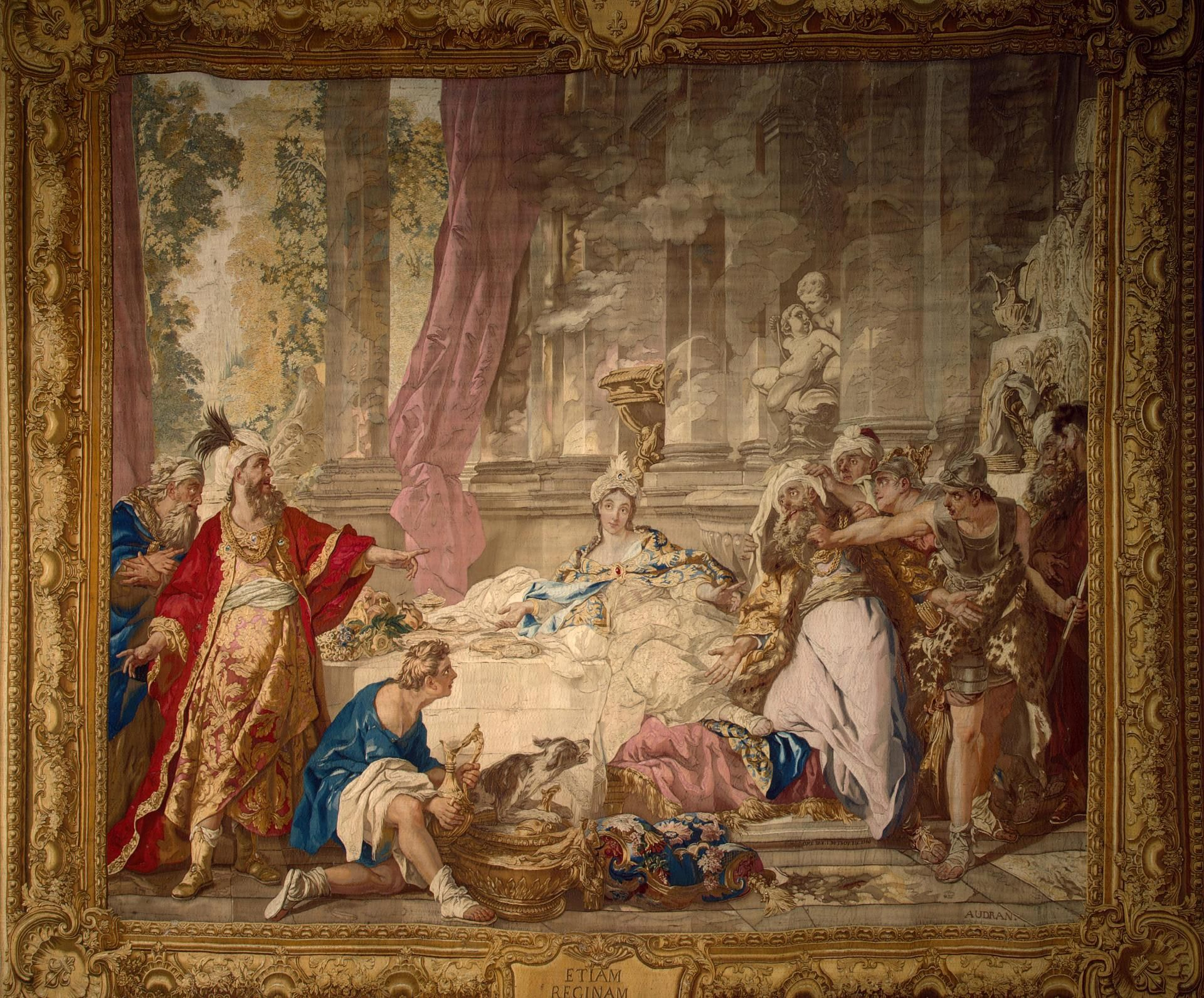The Denunciation Of Haman Gobelins Tapestry Manufactory