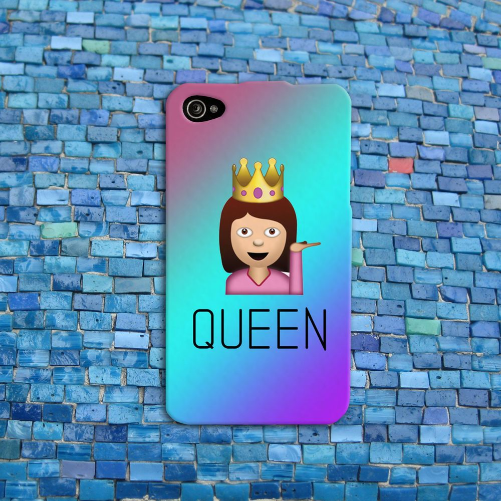 Details about Drama Queen Emoji Funny Phone Cover Girl ...