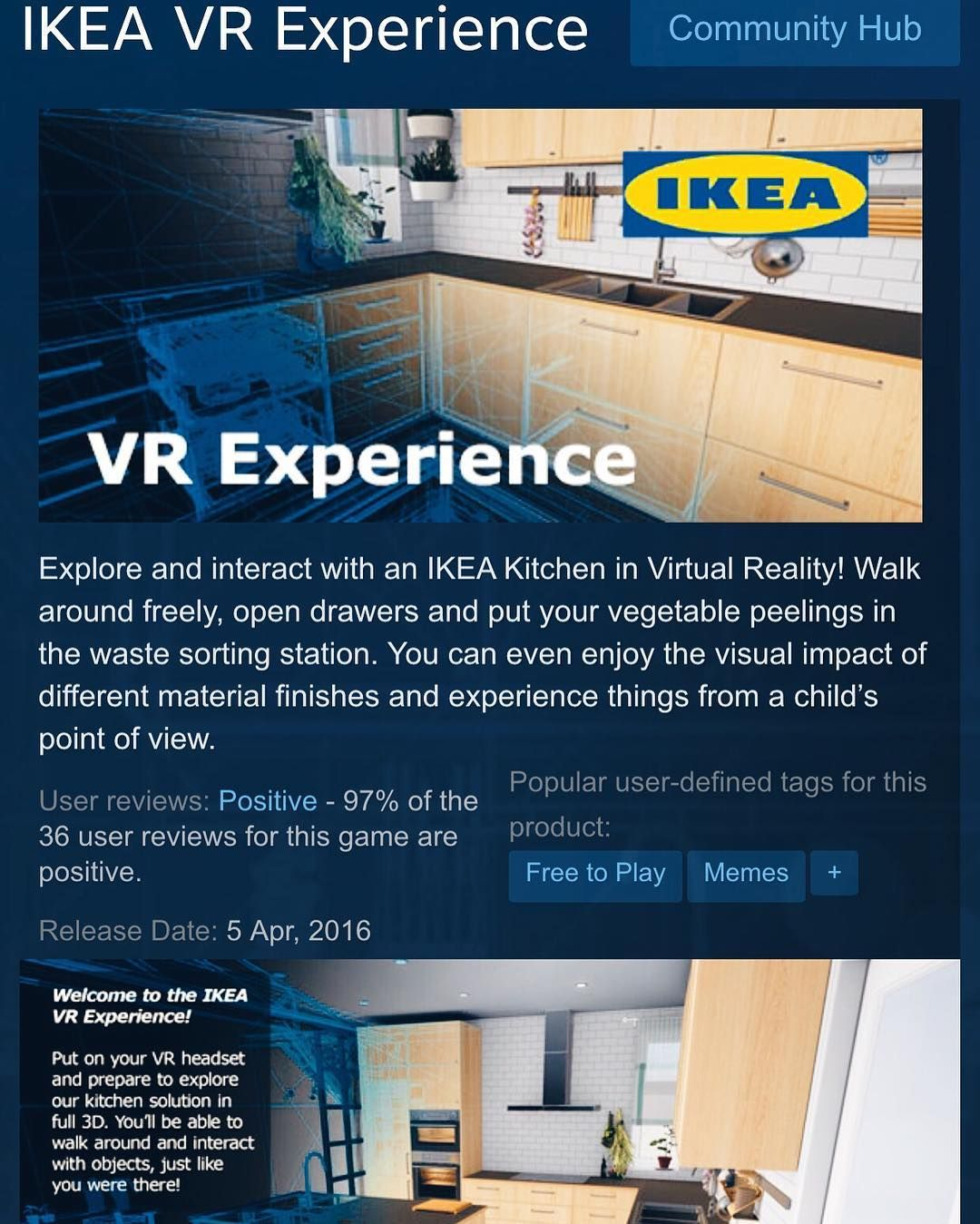 The Future Is Now Truly Ikea Ikeavr Vr Virtualreality