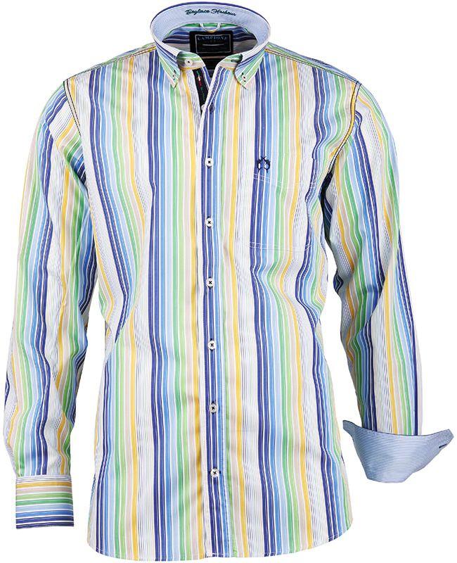 sale retailer 50942 9c1a1 Langarmhemd aus der #DelGarda Kollektion von CLAUDIO ...