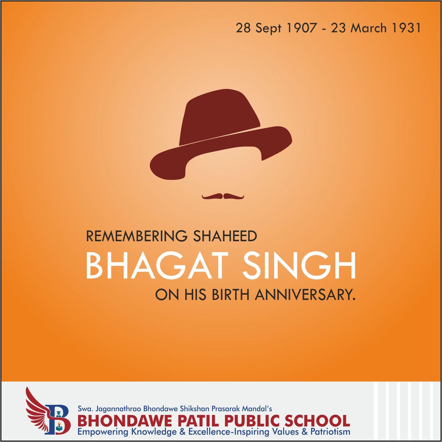 Remembering Shaheed Bhagat Singh on his Birth Anniversary