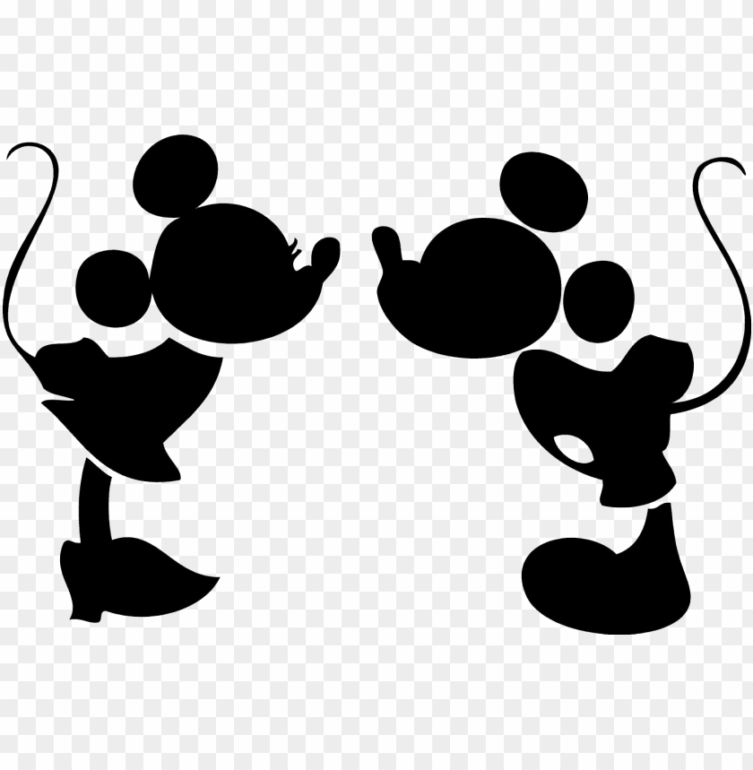 Mickey Mouse Head Vector Mickey Mouse And Minnie Mouse Silhouette Png Image With Transparent Background Png Free Png Images In 2021 Mickey Mouse Silhouette Minnie Mouse Drawing Mickey Silhouette