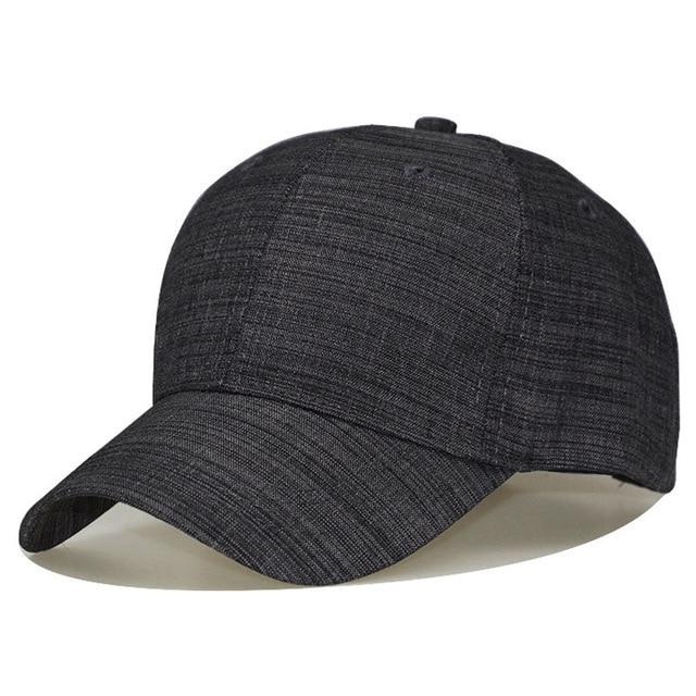 top fashion in stock affordable price 100 % Men Big Head Baseball Cap Black/Gray Color Adult ...
