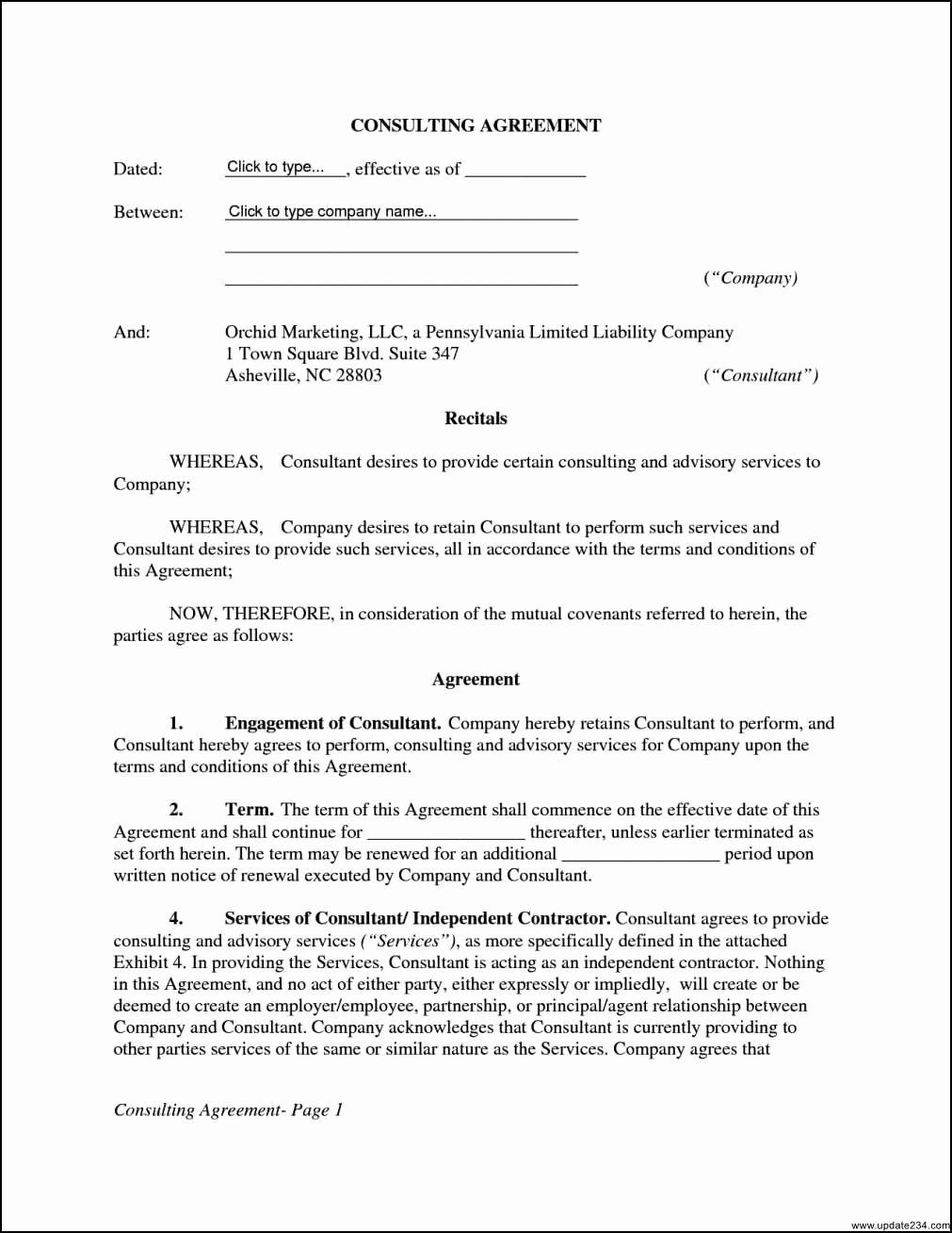 Consulting Contract Template Free Inspirational 34 Last Consultancy Agreement Letter Di D6961 Contract Template Web Design Contract Professional Templates