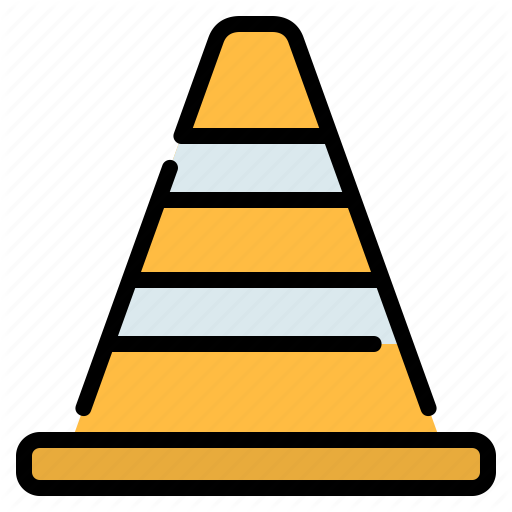Cone Construction Road Sign Street Traffic Icon Download On Iconfinder In 2020 Icon Icon Company Traffic