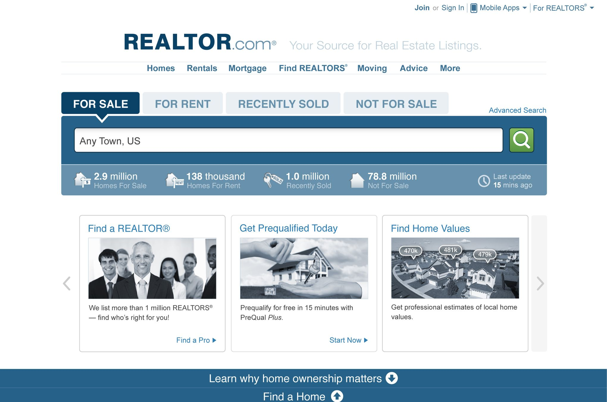 Realtor com - Database Lists | Data Scraping Services | Web