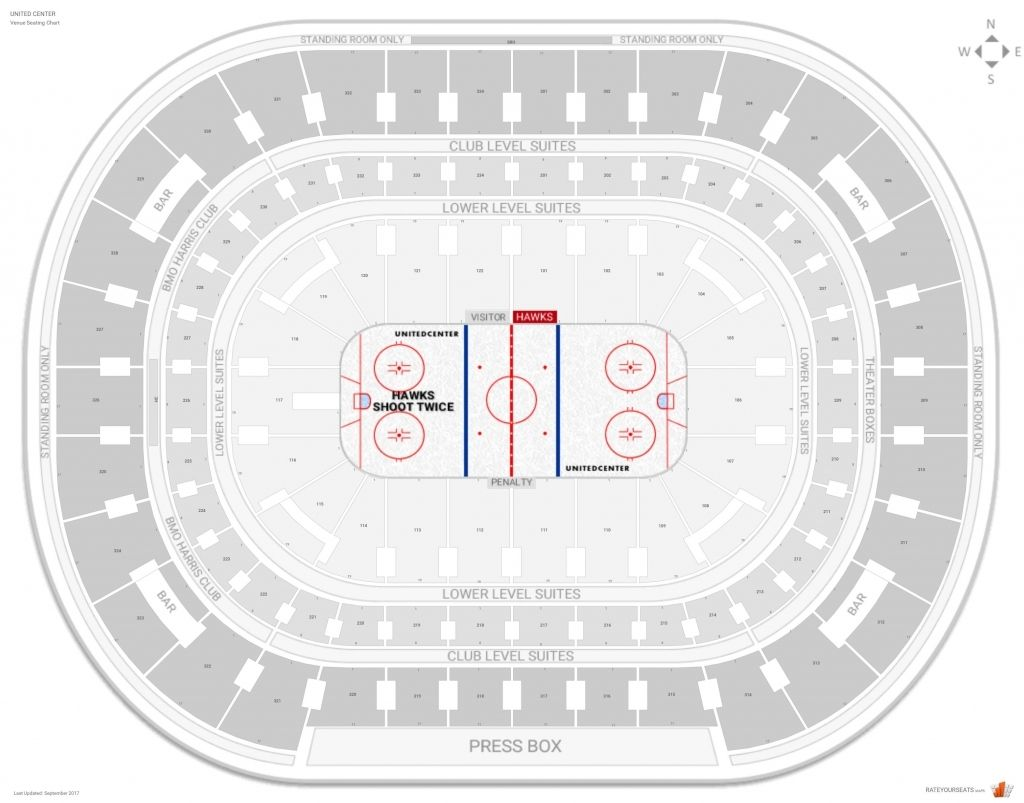 Chicago Blackhawks Seating Guide United Center Rateyourseats Regarding United Center Seating Chart With Seat Numbers Unitedcenterbullsseatingchartwithseatnumb Di 2020