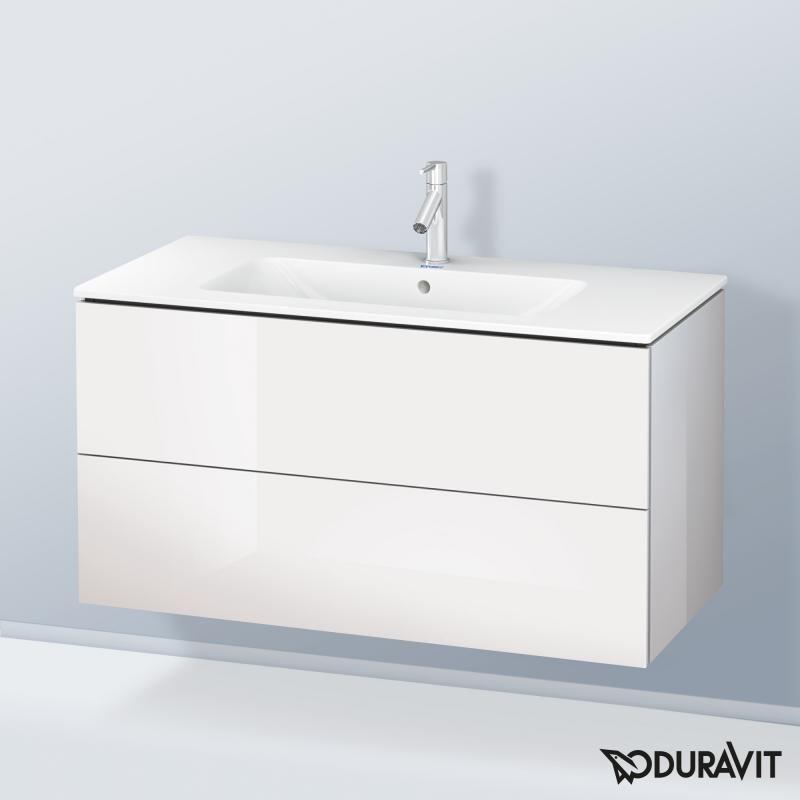 duravit me by starck l cube waschtisch mit. Black Bedroom Furniture Sets. Home Design Ideas
