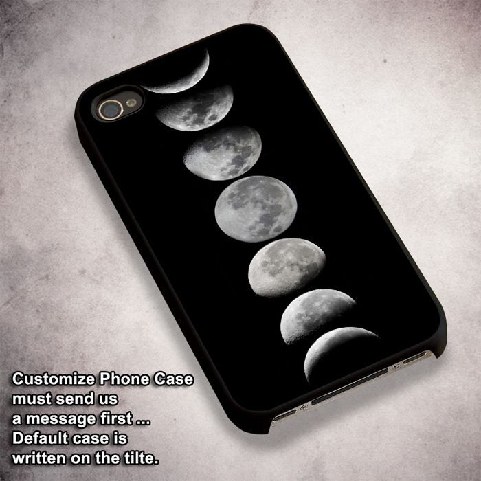 Moon Phases (3) - For iPhone 4/ 4S/ 5/ 5S/ 5SE/ 5C/ 6/ 6S/ 6 PLUS/ 6S PLUS/ 7/ 7 PLUS Case And Samsung Galaxy Case
