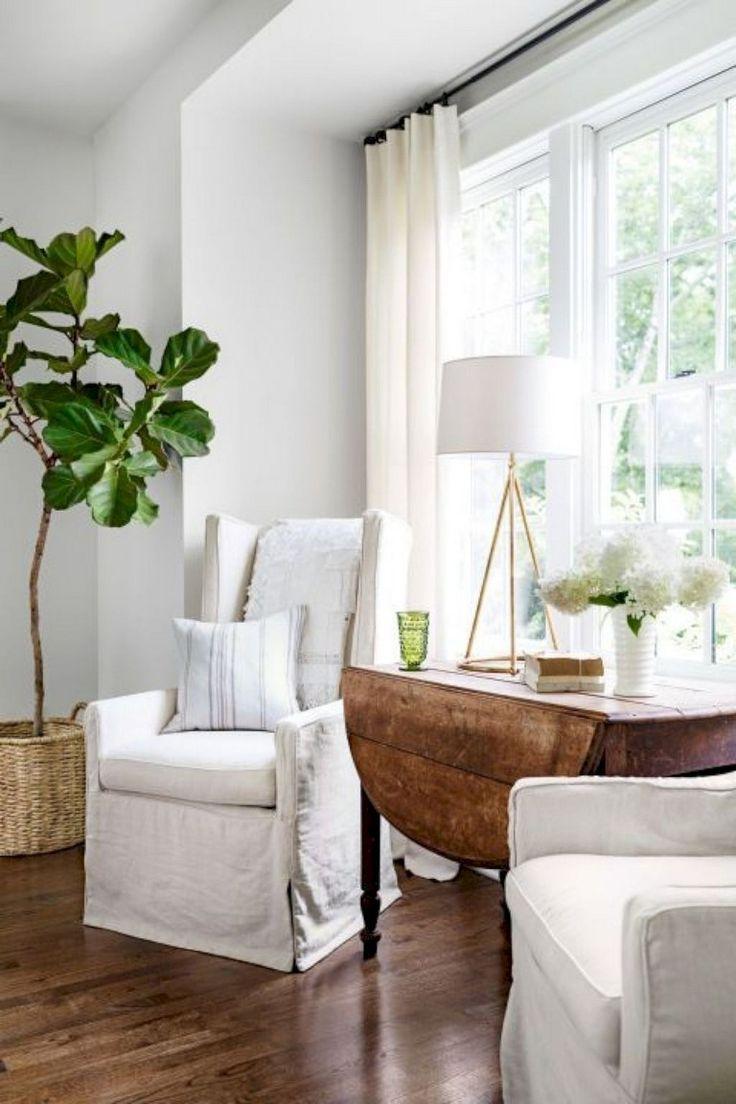 46 Popular Farmhouse Dining Room Design Ideas Trend 2019: 50+ Long Lasting Modern Farmhouse Style Dining Room Design