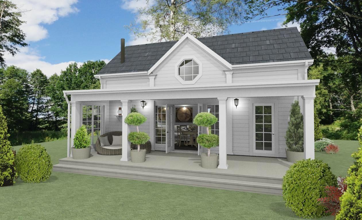 Privat kommer vi att bygga ännu ett hus på gården - ett eget litet ...