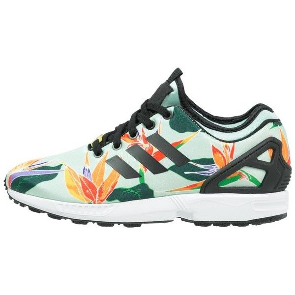 fd5b164b76ee0 adidas Originals ZX FLUX NPS Trainers blush green ( 92) ❤ liked on Polyvore  featuring shoes